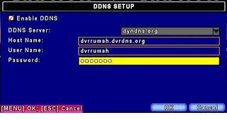 Setting DVR ke Internet 3