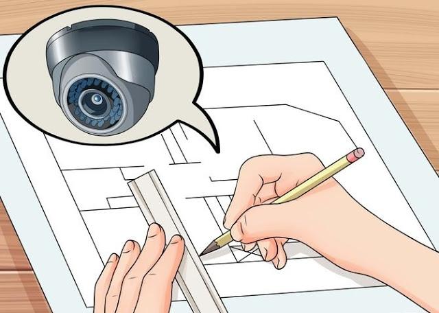 CCTV Cirebon Zonacctv.com - Tips Menentukan Letak Kamera CCTV