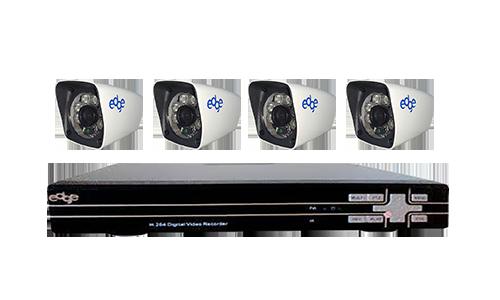 paket basic 4 camera - outdoor