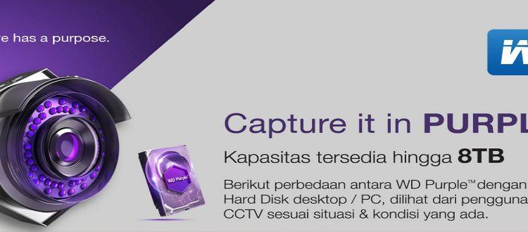 CCTV Cirebon - KElebihan hardisk CCTV WD Purple